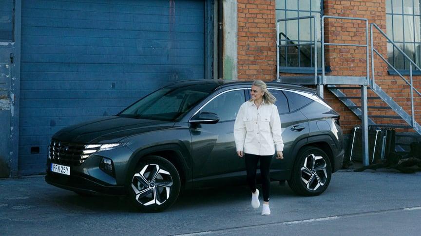 Hyundai i samarbete med Sophie Odelberg.