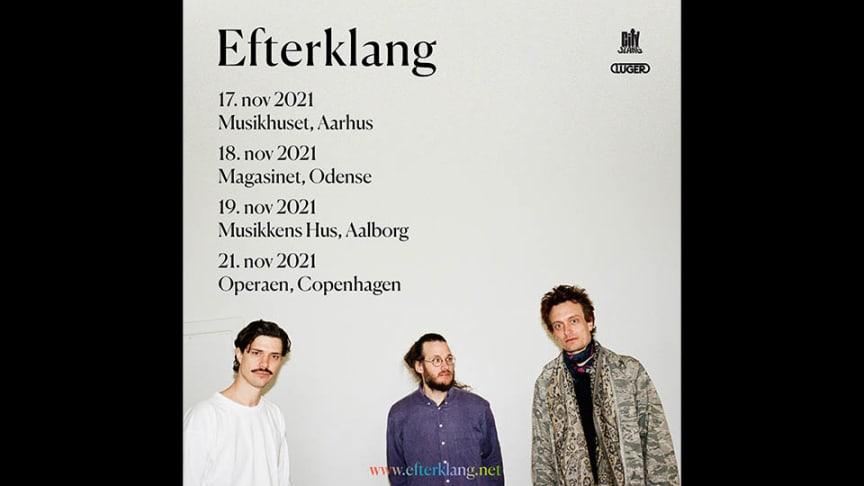 Efterklang annoncerer fire danske koncerter til november 2021