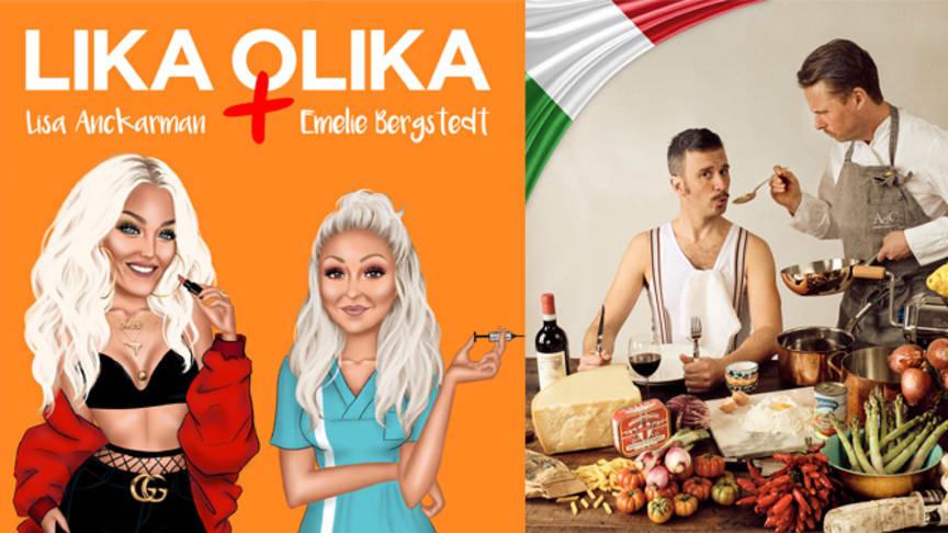 Lika Olika och Italiensk mat - Il Podino