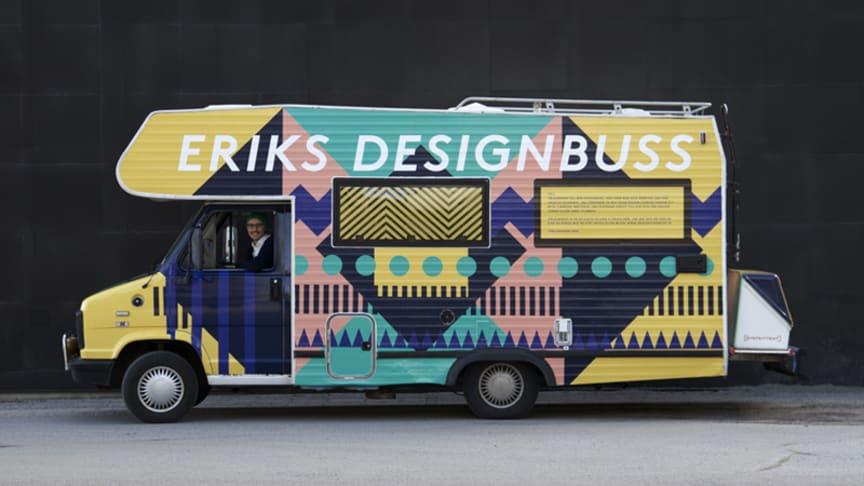 Designbuss startar Konstfacks vårutställning