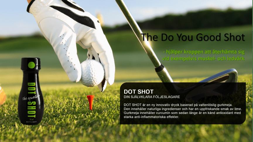 Dot Shot är din självklara följeslagare på golfbanan