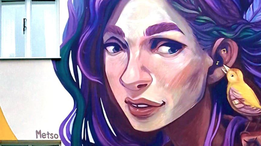 Tidigare verk av Elina Metso, en av årets 12 konstnärer i No Limit: Artscape Edition.