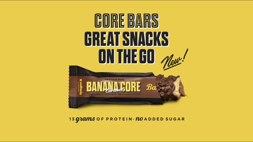 Barebells Banana Caramel Core Bar