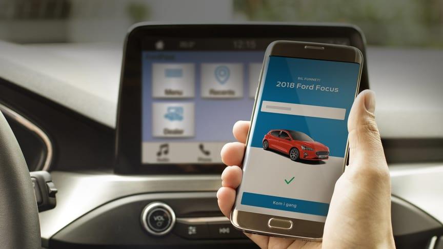 Ny gratisapp gjør livet på veien enklere for mange Ford-eiere