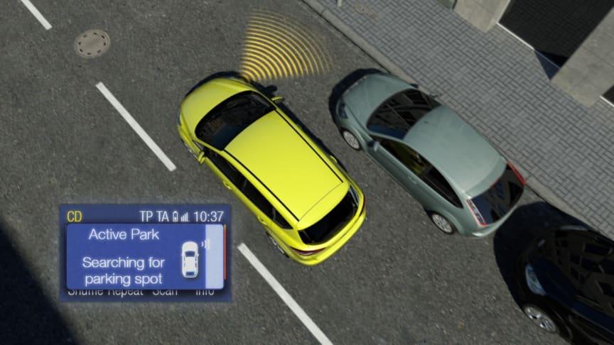 Ford Focuksen ja C-MAXin uudet teknologiat ovat erittäin suosittuja
