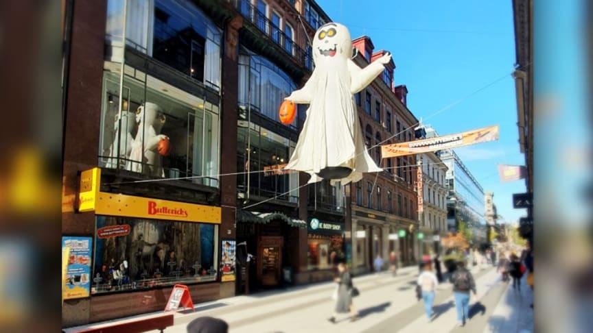 Butterick's spöke uppe på Drottninggatan