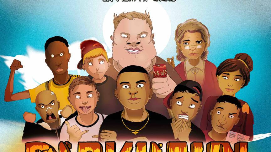 Nu afsløres trailer og plakat til Gigis længe ventede animationsfilm BLOKHAVN!