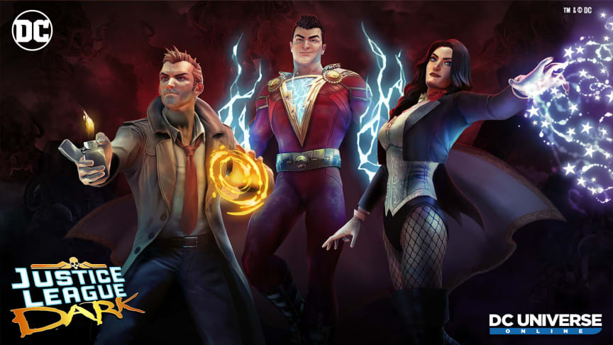 Daybreak Games Unleashes New Event & Episode for DC Universe Online, 'Justice League Dark', Available Now for PS4, Xbox One and PC