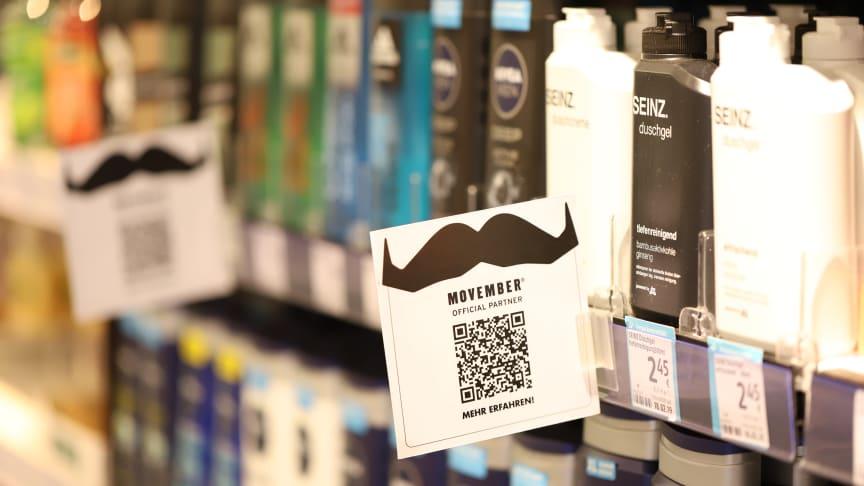 """Neue Partnerschaft: dm und """"Movember"""" setzen sich für Männergesundheit ein und machen den November zum Spendenmonat"""