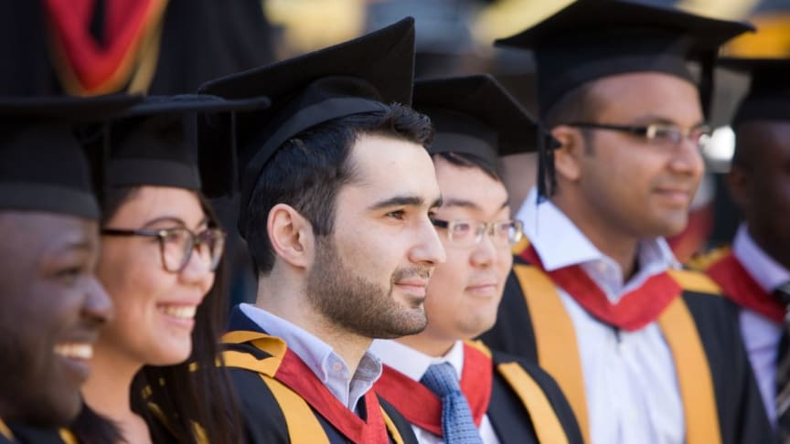 Summer Congregations at Northumbria University, Newcastle