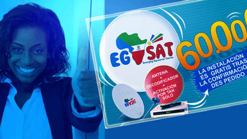 UBM EG choisit Eutelsat pour lancer « EG SAT », son nouveau bouquet TV en Guinée équatoriale
