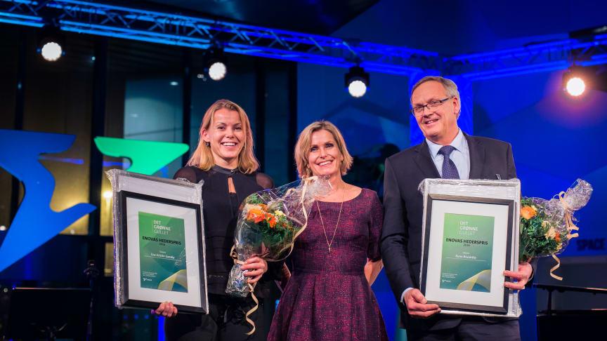 Enovaprisen 2016 til Rom Eiendom og Arbaflame
