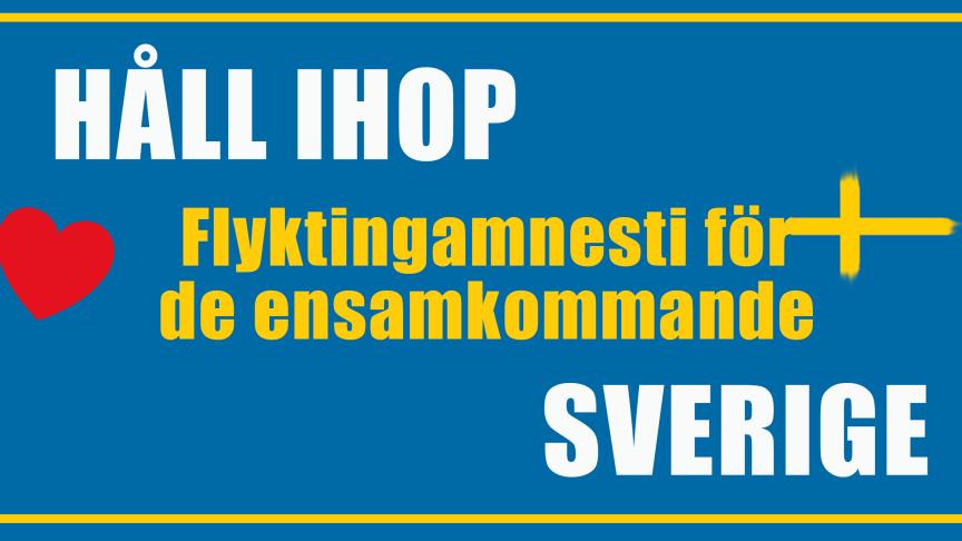 En ny nationell kampanj. http://flyktingamnesti.se/