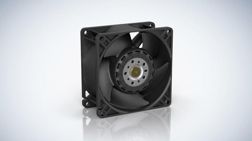 ebm-papst nya axialfläkt AxiForce.