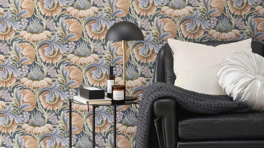 Denne våren skal veggene dekkes med mønster!