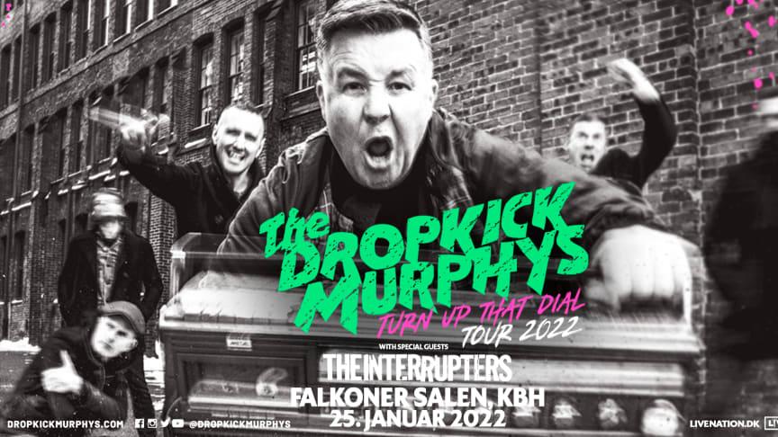 Dropkick Murphys kommer til København den 25. januar 2022