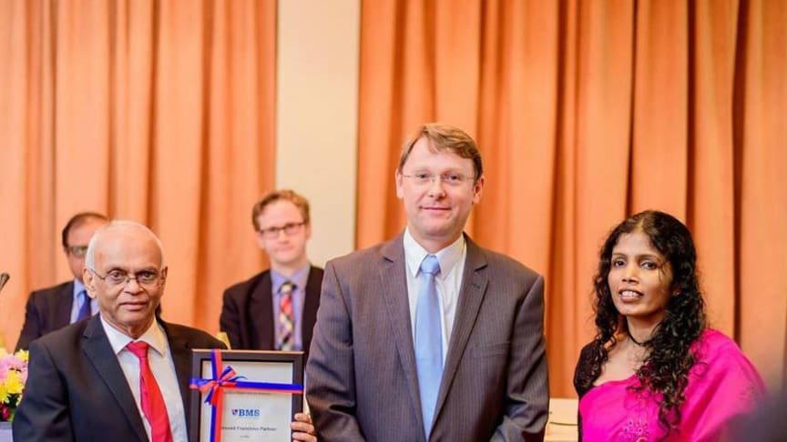 BMS and Northumbria University launch BSc (Hons) Biotechnology degree at The Kingsbury Hotel, Colombo