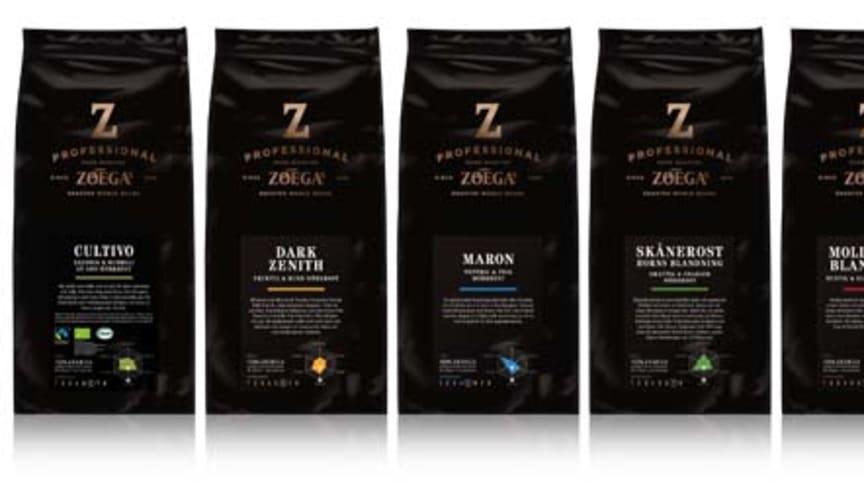 Nestlé Professional lanserar ett nytt Zoégas sortiment