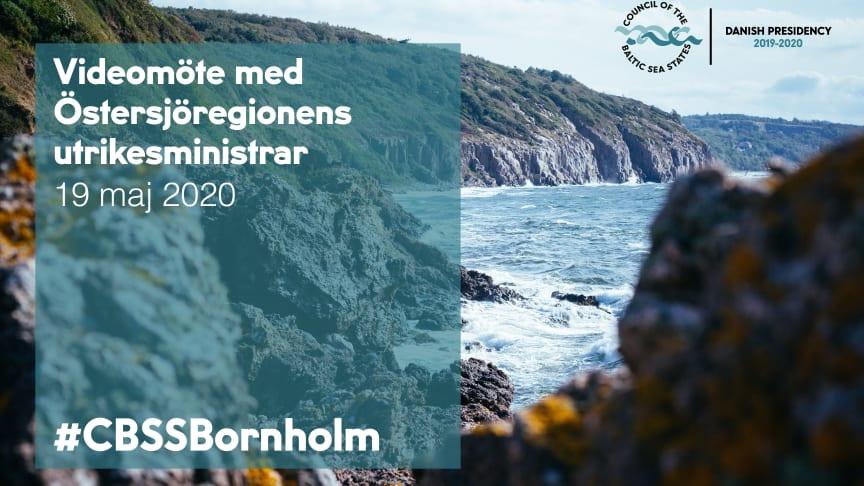 Utrikesministrarna i Östersjöstaternas råd möts idag via videolänk, då utbrottet av COVID-19 hindrar dem från att träffas på Bornholm som planerat.