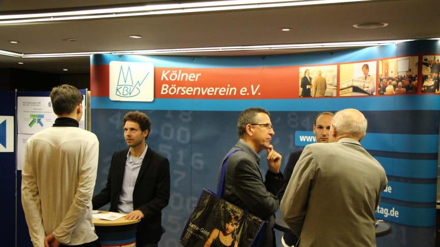 Informationen aus erster Hand beim Börsentag kompakt in Köln