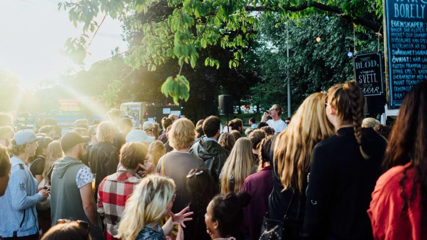 Boulefestival intar Slottsgatan i helgen
