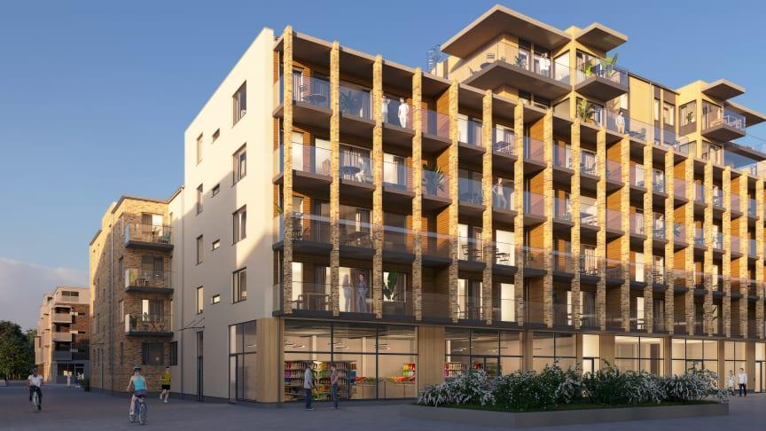 Säljsuccé: Riksbyggen byggstartar 61 lägenheter i Kungälv
