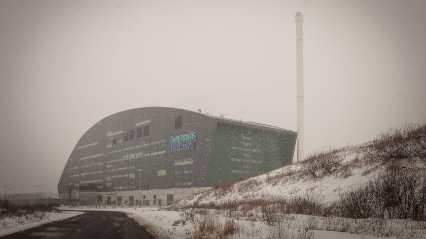 Tillbudet med gasflaska den 19/2  2017 var det första i sitt slag sedan Filbornaverket startades hösten 2012. Foto: Timo Julku