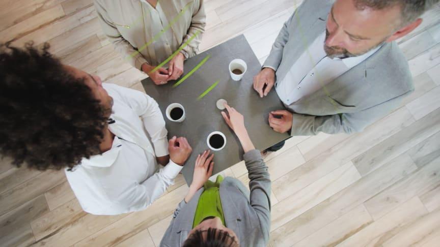 Modern hörselteknik gör det möjligt att delta fullt ut i möten