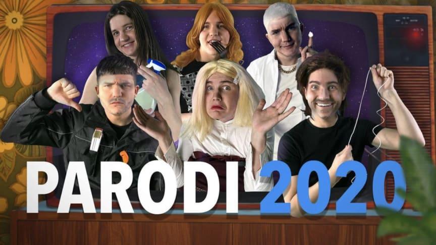 Bröderna Norbergs parodi på Melodifestivalen 2020 är årets mest populära klipp på Youtube