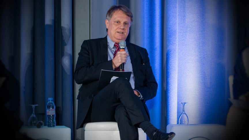 Hans Holger Gliewe at the IFRA Annual Meeting in Paris in November 2018.