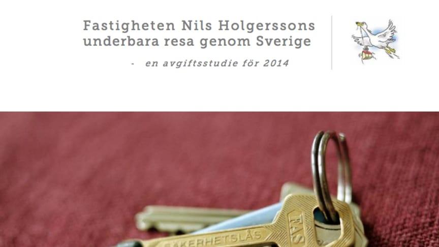 Nils Holgersson-rapporten 2014: Stora skillnader mellan kommunernas taxor och avgifter