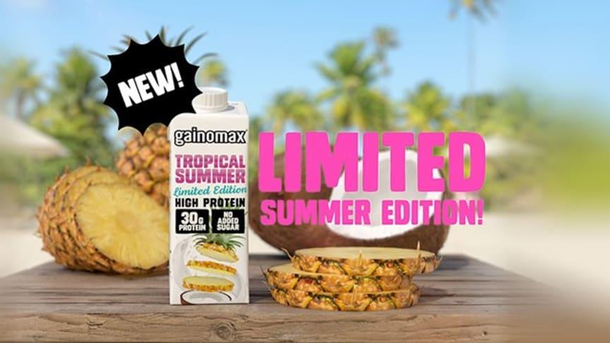 Gainomax Tropical summer kausimaku nyt kaupoissa!