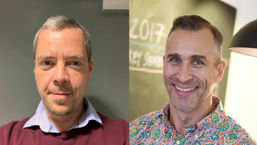 Olav Bæverfjord, Country Manager i Burger King Norge og Steen Puggaard, CEO i King Food Scandinavia.