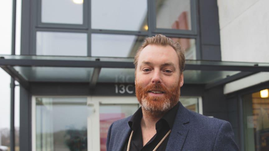 Johan Martinsson, sälj- och marknadschef Höganäs Energi