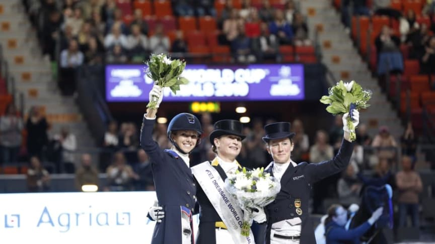 Isabell Werth wins the FEI Dressage World Cup final™ for the third time. Photo: Anna-Lena Lundqvist