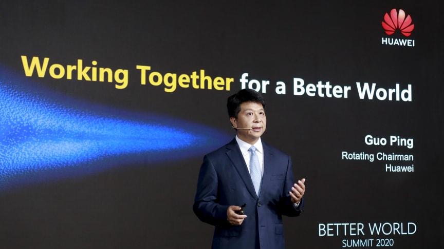 Better World Summit 2020, roterande ordförande Guo Ping