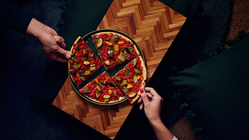 Dr. Oetker Ristorante Rossa Vegetale, vegansk pizza