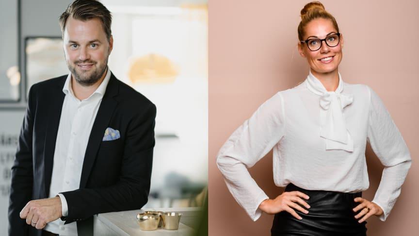 Henrik Lenander och Alexandra Ernberg