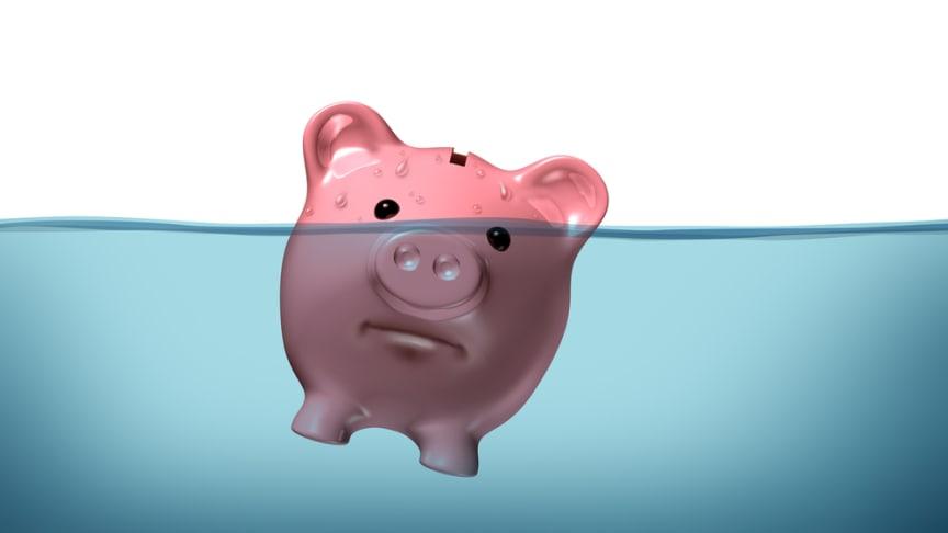 Fler bolag i konkurs i mars - men färre människor drabbas