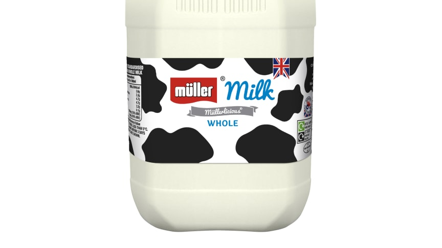 Müller Milk & Ingredients to reduce plastic use and food waste as it simplifies fresh milk and cream range
