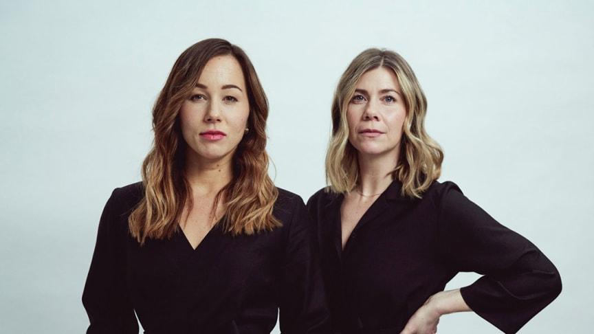 Johanna Mörk och Tini Warg är grundarna till Tini Garments som nyligen attraherade miljonbelopp i investeringar från bland annat Almi Invest.