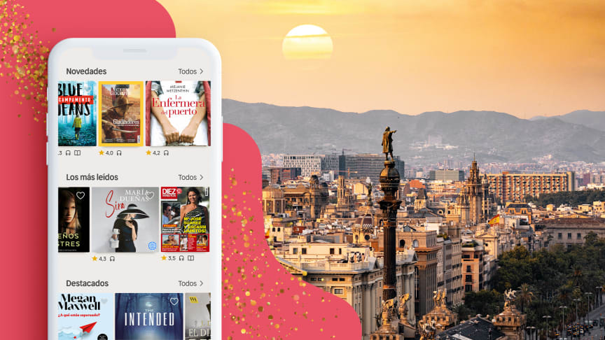 Nextory is now launched in Spain