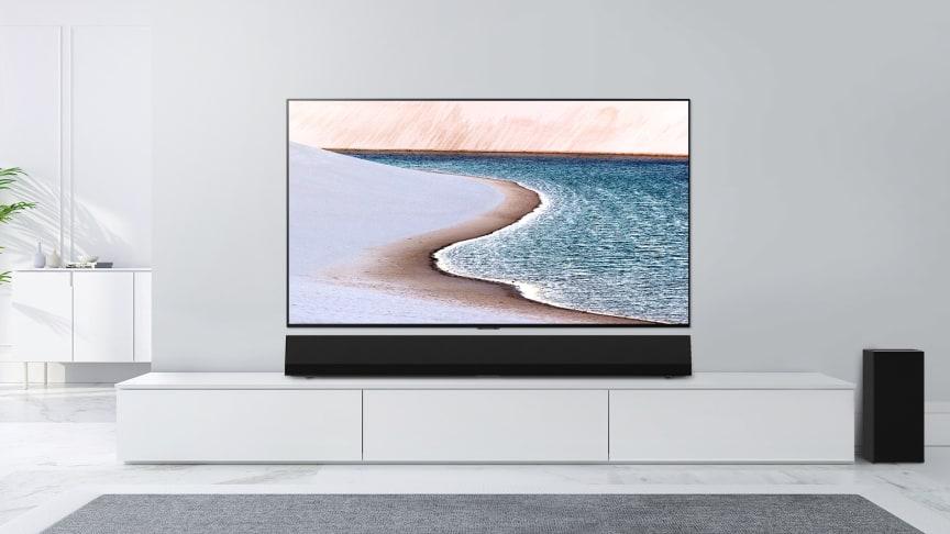 LG lanserar nya GX Soundbar med enastående ljud och perfekt passform för OLED GX TV