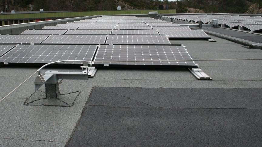 Haakonsvern i front med energieffektivt bygg