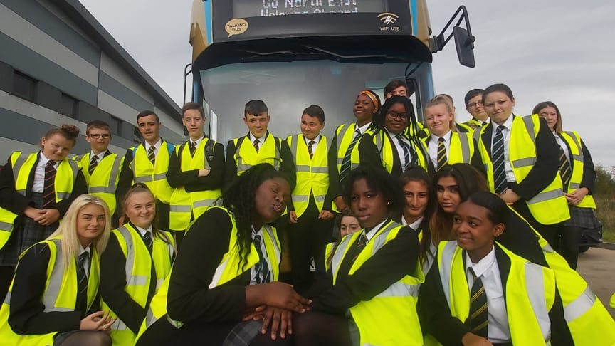 Go North East partners with NE1 Can programme to showcase career opportunities to 160 students
