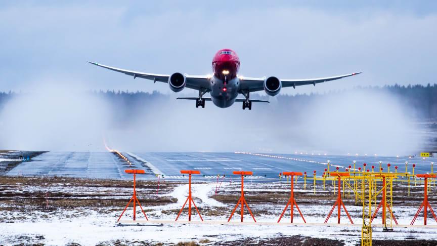 Norwegian justerer langdistanceprogrammet