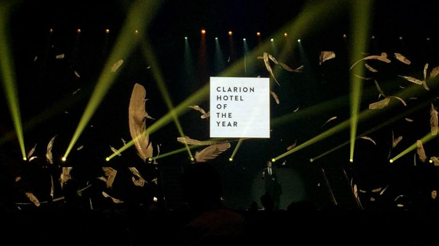 "Clarion Hotel Arlanda Airport är ""Clarion Hotel of the year 2014"""