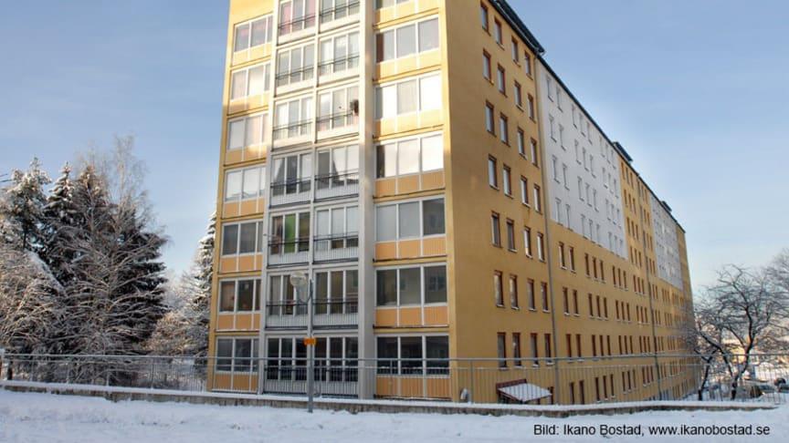 M3 Bygg utför stambyte och renovering åt Ikano Bostad