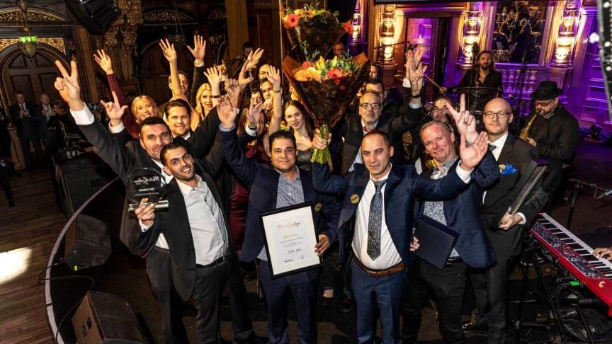Bild: Vinnare på Motorgalan 2018