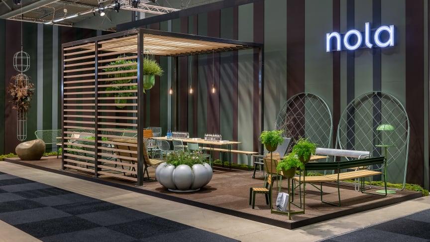 Nolas monter Stockholm Furniture Fair 2020. Foto: Jann Lipka